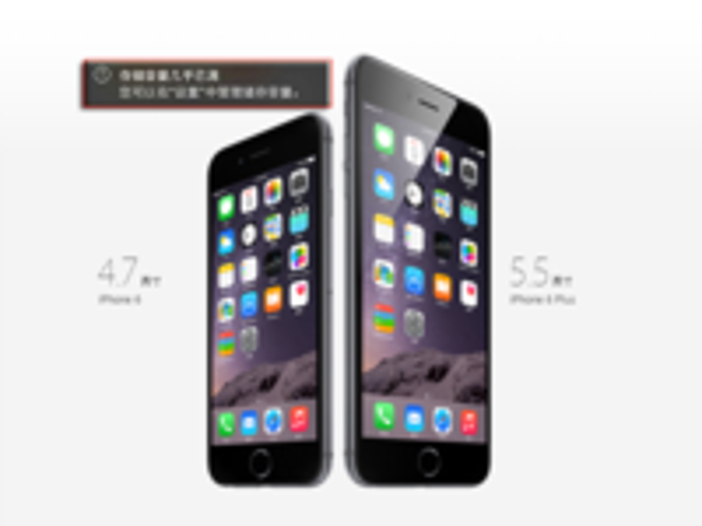 千图验证 大屏比小屏iPhone6拍照片更大?