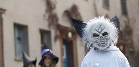 黑夜魔来袭 万圣节恐怖化装面具图赏