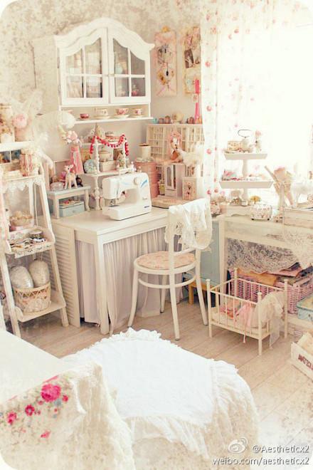 奢华温馨公主房 女生卧室装修设计组图 家电其