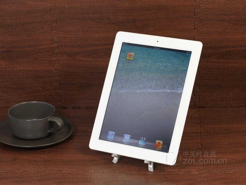 苹果ipad4白色正面图片