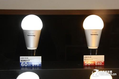 通常的led电灯泡都是半透明的,为了让光扩展开来而加装了反射板.