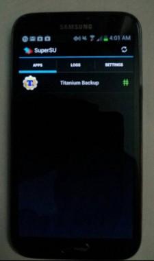 Verizon版三星GALAXY Note Ⅱ已经可ROOT
