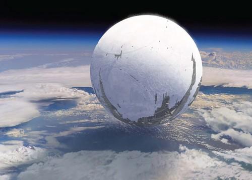科幻星空月亮壁纸