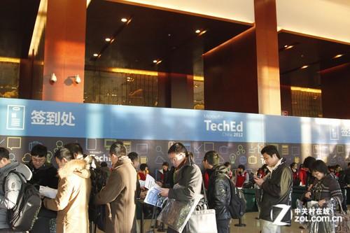 TechEd2012大会第二日展台区图文实录