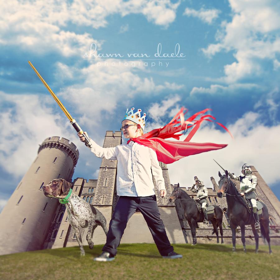创意还原童年梦想 摄影师的奇幻作品赏