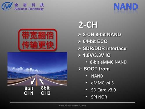 昂达四核平板双通道Nand Flash技术实测