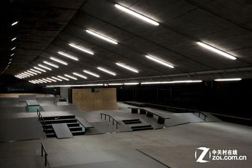 极限运动 bay sixty6滑板公园照明设计