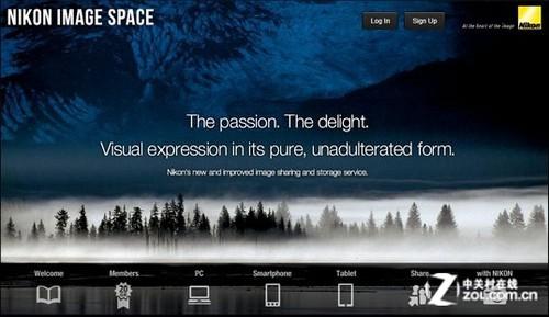 在线图像存储与分享 尼康推出影像空间