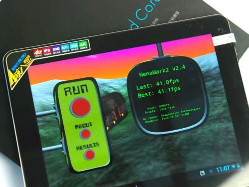 搭载Retina的四核多强?看普耐尔MOMO19 HD跑分