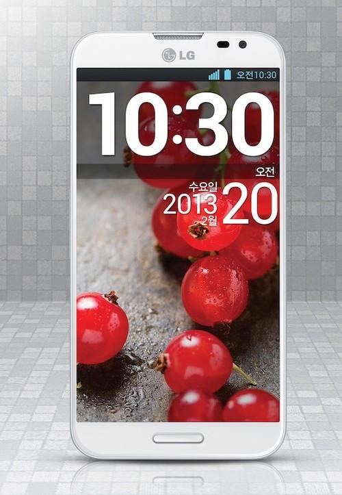 四核骁龙600首秀 LG Optimus G Pro发布
