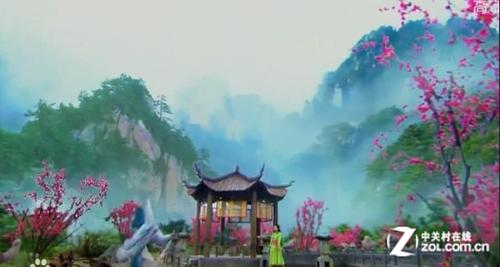 网友爆《新笑傲江湖》与《仙侠世界》场景神似