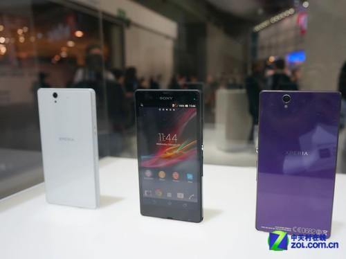 展台测防水 索尼Xperia Z手机/平板挑大梁