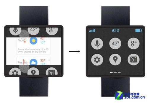 传谷歌正开发智能手表 作为android手机扩展高清图片