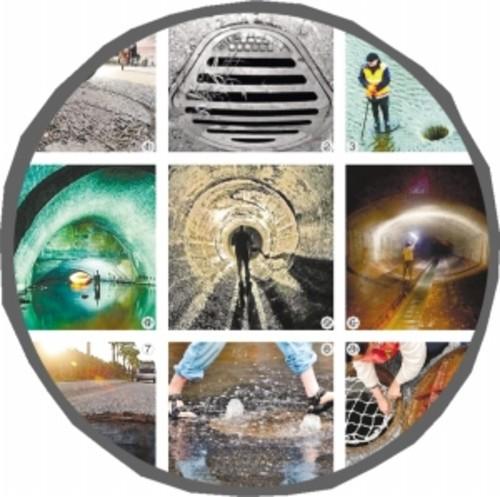 科技感十足 下水道井盖装上卫星定位系统