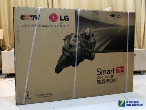 中国红迎喜气 LG新款智能电视拆箱图赏