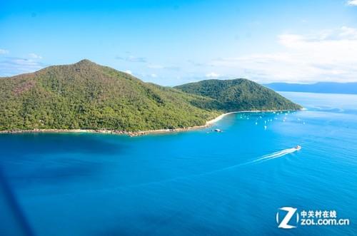 著名的翡翠岛