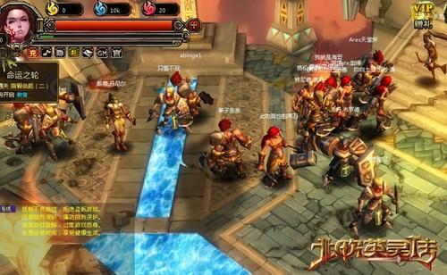 玩家争当救世主 《北欧:诸神之战》公测盛况