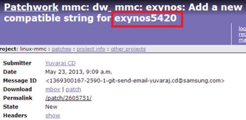 Exynos 5420�ع� ��Ӧ��������Note ��
