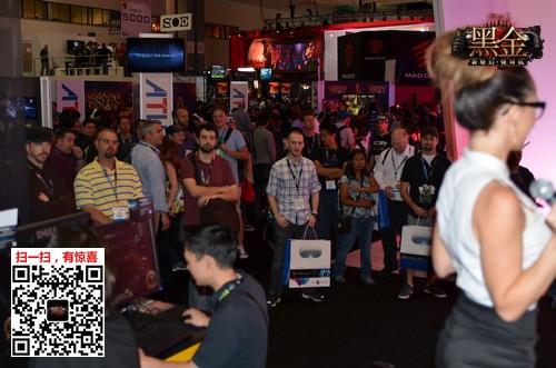 无锁定MMO引关注 《黑金》E3试玩集锦