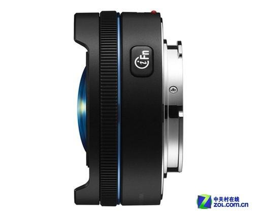 体积极致小巧 三星发布NX 10mm鱼眼镜头