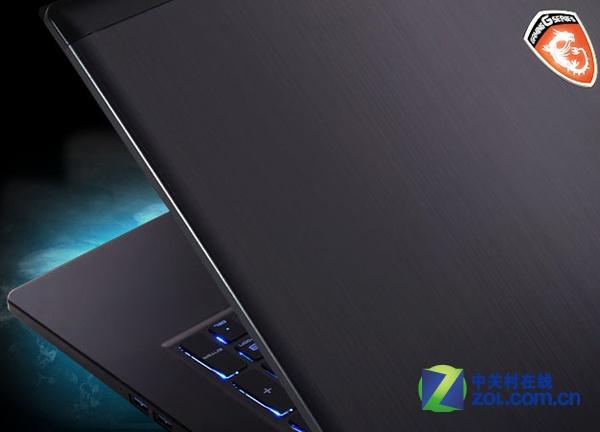 微星GS70史上最薄游戏本 厚度仅为21.8mm