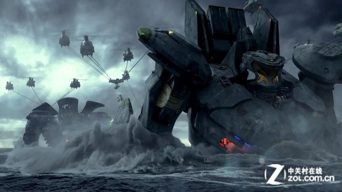 【高清图】 机器人打小怪兽 《环太平洋》演绎未来图33