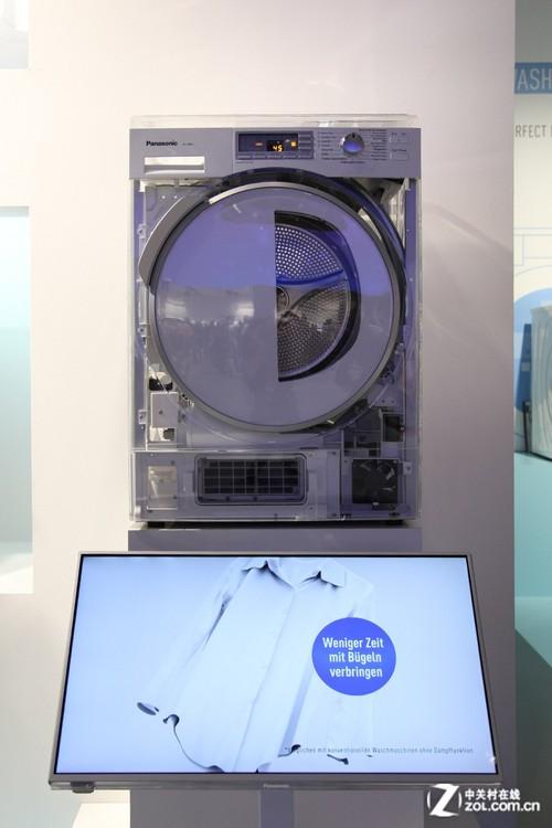 松下洗衣机内部构造展示