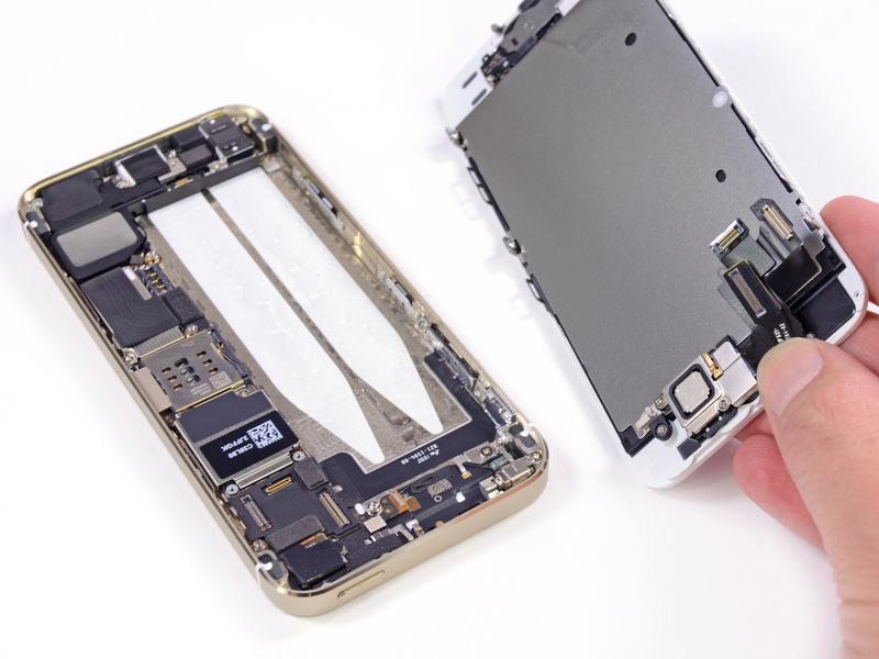 苹果5s手机结构图