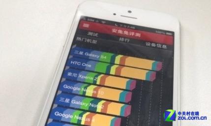 安卓爱疯齐肩比拼 iOS版安兔兔曝光