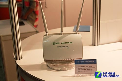 磊科安全路由NI360S3亮相2013互联网安全大会