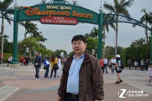 华盖科技副总裁兼华为事业部总经理李海龙