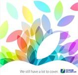 iPad 5/iPad mini/MBP上市时间遭曝光