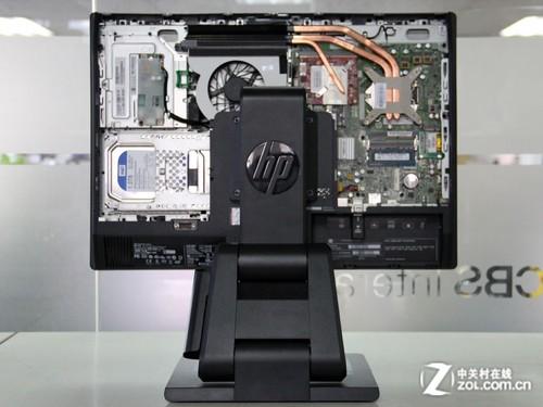 惠普电脑显示器的结构示意图
