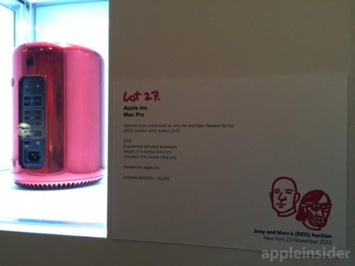 全球仅一台 超奢华红色Mac Pro真机现身