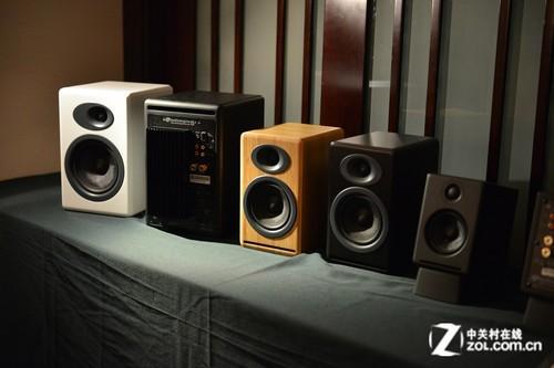 2013广州音响展 声擎展示音响与解码器