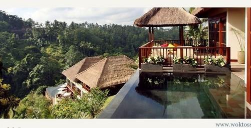 巴厘岛乌布悬挂花园度假村 摄影图赏