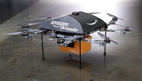 亚马逊获得无人机充电中转站专利 第5张