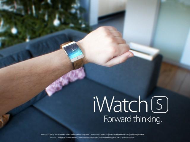 两款苹果智能手表iWatch s/c概念图欣赏