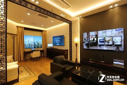 三星智能酒店解决方案打造愉悦的居住