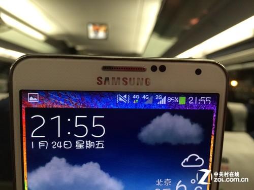 """表现只能说""""呵呵"""" 京津高铁实测4G网络"""