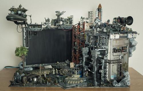 """""""秘密基地""""(secret base)的超现代机箱MOD设计"""
