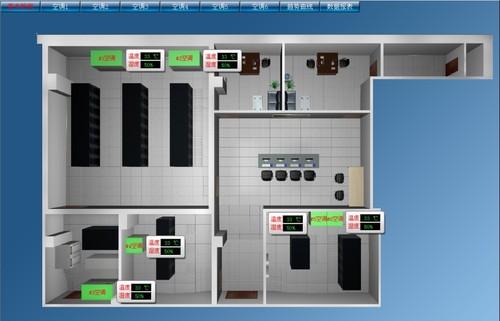 1-3台ups,1-2台精密空调,1套配电柜系统,该设备安装在专业的机房内