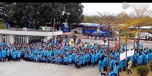 罢工升级 IBM深圳工厂开除19名维权员工