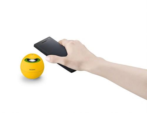 索尼SRS-BTV5无线扬声器FIFA黄色版激情登场