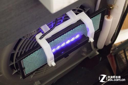美的柜机空调滤网拆装图解