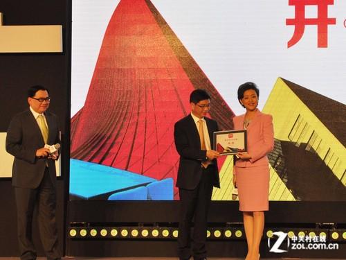 杨澜成为得力新的代言人-开启办公大时代 得力品牌战略升级发布