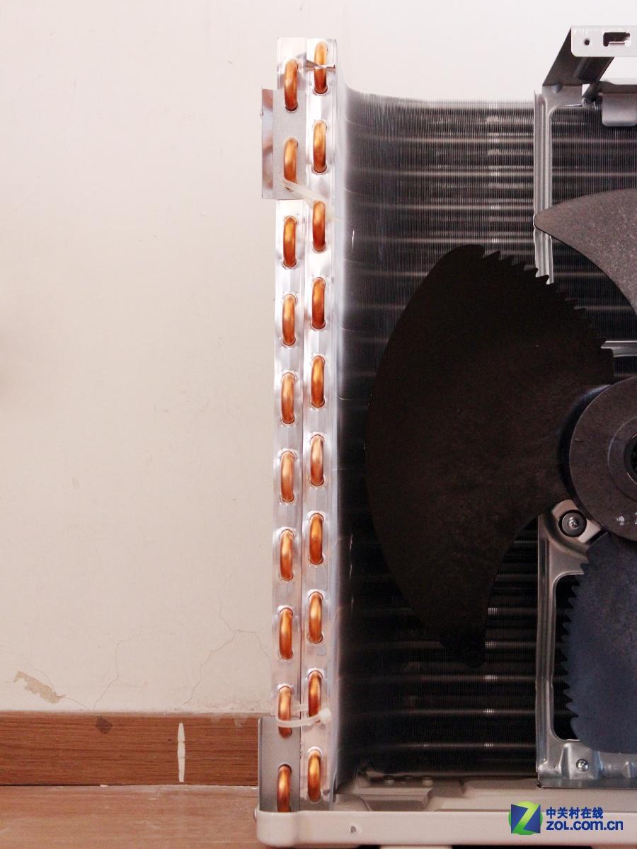 原装进口压缩机 三菱重工变频空调拆解