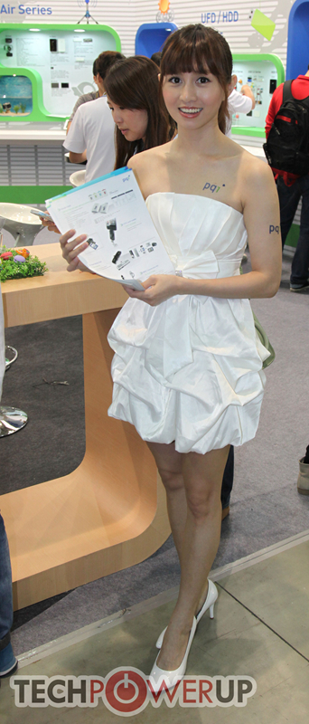 台北电脑展又一大波妹子来袭 130张ShowGirl美图一网打尽的照片 - 38