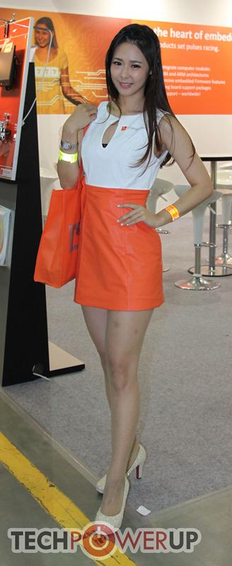 台北电脑展又一大波妹子来袭 130张ShowGirl美图一网打尽的照片 - 56