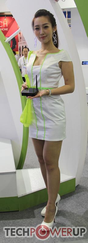 台北电脑展又一大波妹子来袭 130张ShowGirl美图一网打尽的照片 - 62